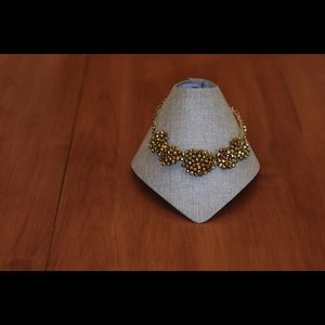 Jewelry - Gold Swarovski Crystals Necklace set